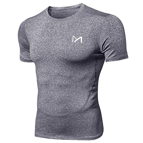 MEETYOO Tee Shirt Homme, Compression Maillot...