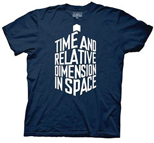 Official Men's Time And Relative Dimension in Space T-shirt