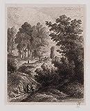H. W. Fichter Kunsthandel: L.MARVY (*1815), Landschaft mit