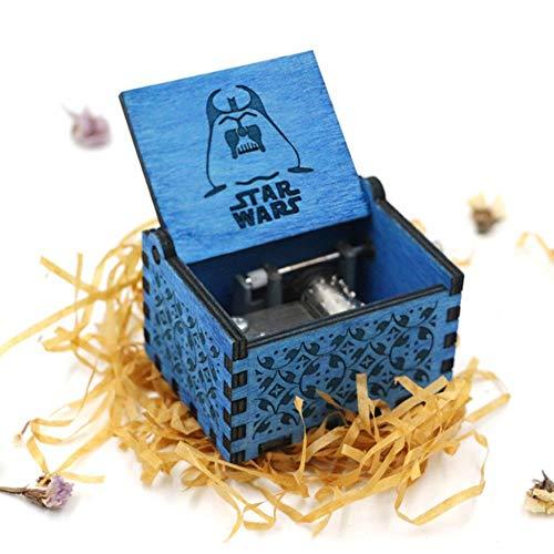 DXR Une boîte à Musique à manivelle à l'ancienne comme Cadeau de Noël pour Vous et Vos Amis, Star Wars