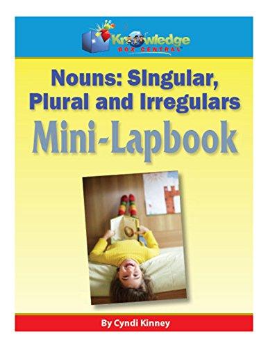 Nouns - Singular, Plural, & Irregulars Mini-Lapbook (English Edition)