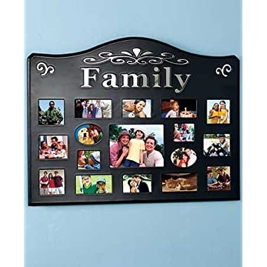 17-Opening Collage Photo Frames (Family)