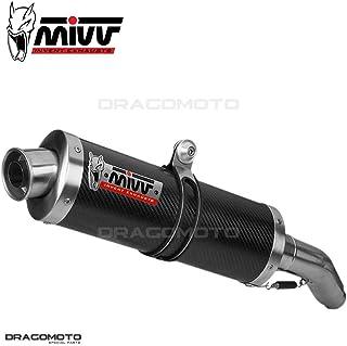 TUBO ESCAPE MIVV HONDA CBR 600 F OVAL CARBONO 1991 1992 1993 1994 1995 1996 1997 1998