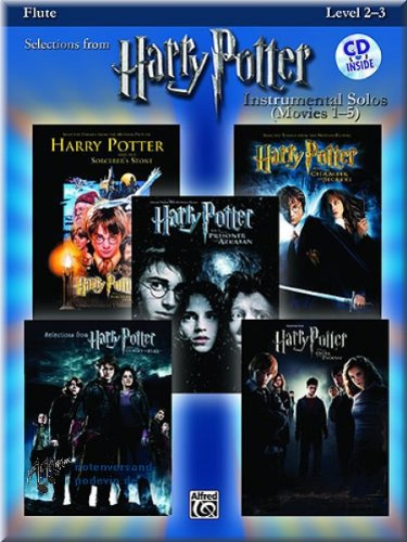 Harry Potter – Vocal Solos Flute – Partituras para Flauta
