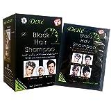 Instant-Haarfärbemittel Shampoo Black Hair Coloring, 25ml x 10 Beutel, letzte 4 Wochen