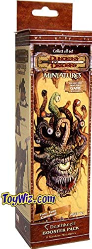 Dungeons and Dragons  Deathknell Miniatures Booster Pack by Wizards Of The Coast