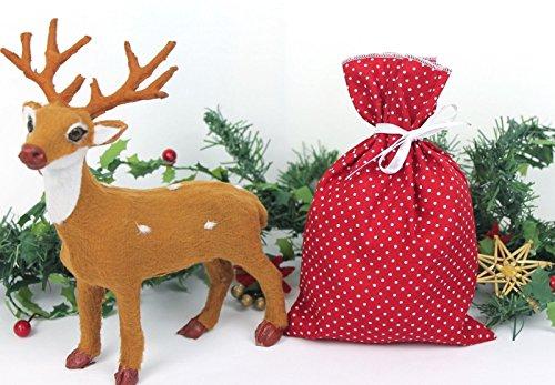 SSITG Sachet à remplir Calendrier de l'Avent Noël sac cadeau plastique Sachet
