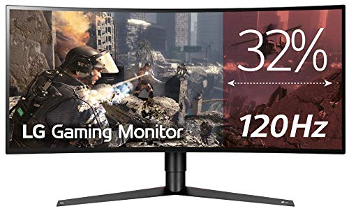 "LG 34GK950G - Monitor Gaming UltraWide QHD de 86,7 cm (34"") con Panel NanoIPS (2560 x 1080 píxeles, 21:9, 1 ms con MBR, 240Hz, 400 cd/m², 1000:1, NTSC >72%) Color Negro"