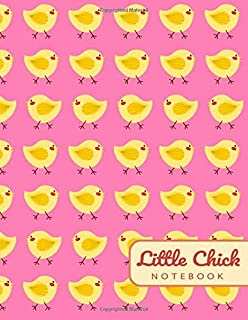 Little Chick NOTEBOOK: Sweet Cute Little Chick - (8.5 x 11 inches)- Lined Pages (Composition Book or Journal)