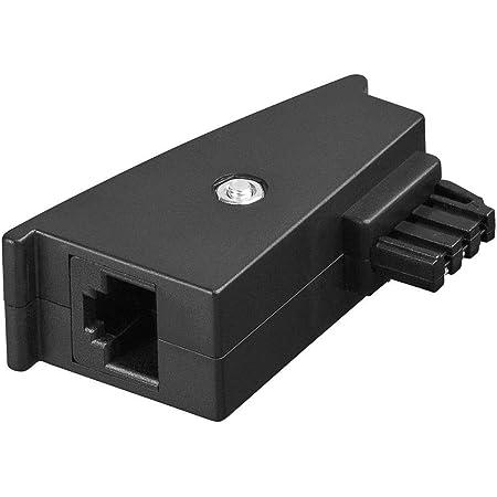 Goobay 95139 Tae Adapter Tae F Stecker Rj45 Buchse Elektronik