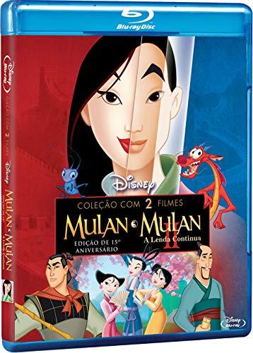 Mulan Coleção Com 2 Filmes [Blu-ray]