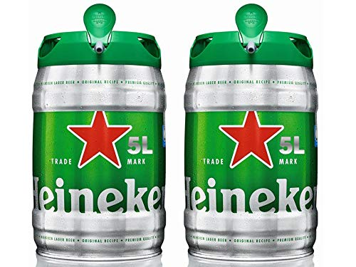 Heineken Beer Barrel - 2 x 5L Package