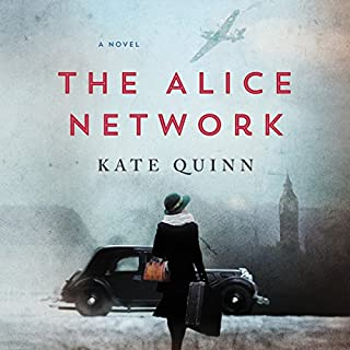 The Alice Network     A Novel              By:                                                                                                                                 Kate Quinn                               Narrated by:                                                                                                                                 Saskia Maarleveld                      Length: 15 hrs and 7 mins     281 ratings     Overall 4.6