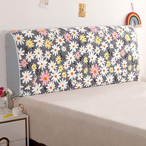 Renbin Bett Kopfteil Hussen/Bezug, Hochelastische Bett Kopfteil Abdeckung, FüR Einzel, Doppel Kopfteil,#11-200×70 * 35