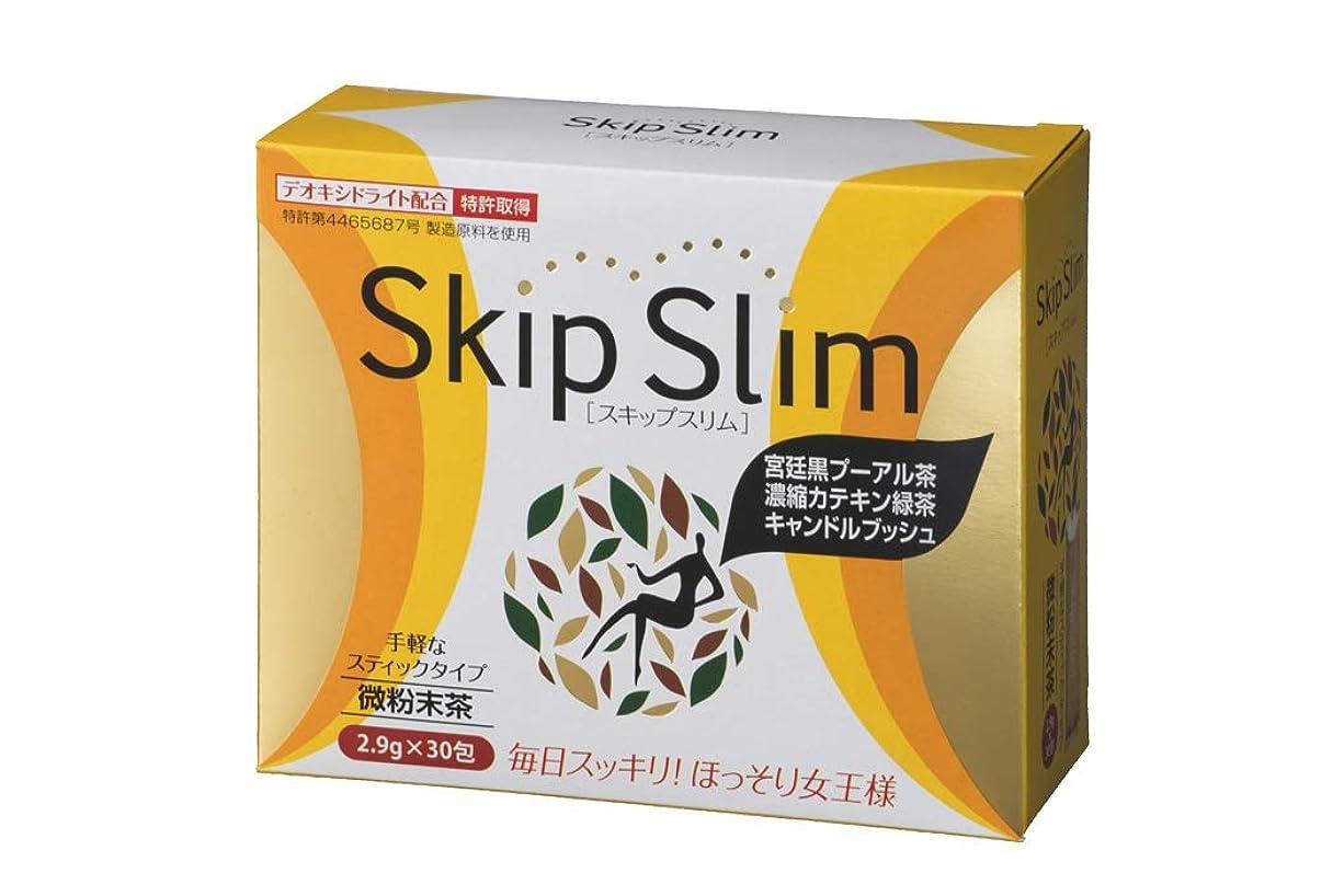 グラス二層道路を作るプロセスSkip Slim スキップスリム 30包