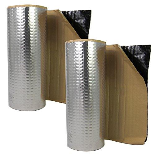 4m² Ersatz Dämmung 50x 400 cm Innenraum Kofferraum Sound HiFi DSP Türdämmung Alubutyl KFZ