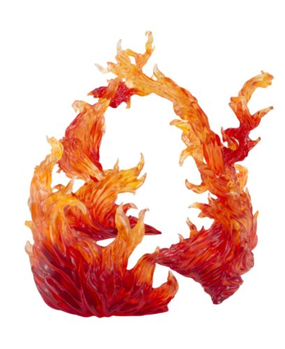 Bandai Tamashii Nations Tamashii Effect Burning Flame Action Figure, Red