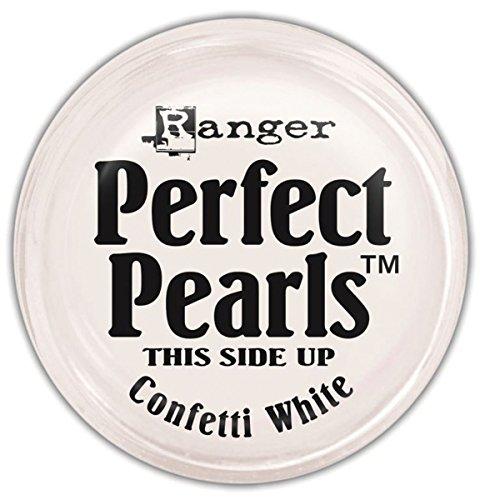 Ideal Perlen Konfetti, weiß