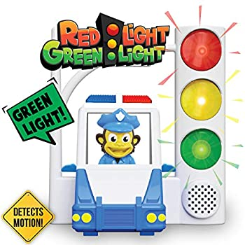 Red Light Green Light with Motion Sensing - Get Kids Active with 3 Different Kids Games For Kids Ages 4-8 Or A Toddler Game