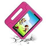cradle HR Funda Protectora para Huawei MediaPad T3 8 de 8 Pulgadas y Huawei Honor Play Pad 2 de 8 Pulgadas, Funda Protectora Ligera de EVA a Prueba de Golpes con Soporte (Magenta)