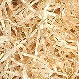 2 kilos de relleno para regalos de virutas de madera ideal para rellenar cestas, cajas y lotes y material de embalaje, rellena y decora tu regalo