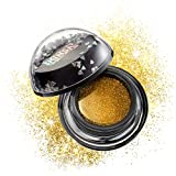 Skingasm All Over Glitter Balm - The Sexiest Way to Sparkle - Multipurpose Glitter for Your Lips, Eyes, Face, Body & Hair - Cruelty- Free Glitter Eyeshadow - Vegan Makeup - Flash Some Flesh (Gold)