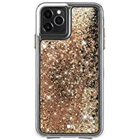 Case-Mate Waterfall Glitter Case for iPhone 11 Pro 5.8 inch (Gold)