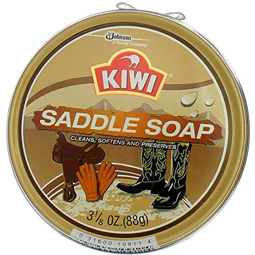 KIWI Saddle Soap 3 1/8 oz (Pack of 4)