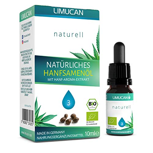Premium Bio Essential Öl - zu 100% natürliche Öl Tropfen mit 10 ml Inhalt - Made in Germany - GMP - vegan, laktosefrei, glutenfrei - frei von Konservierungsstoffen - 3