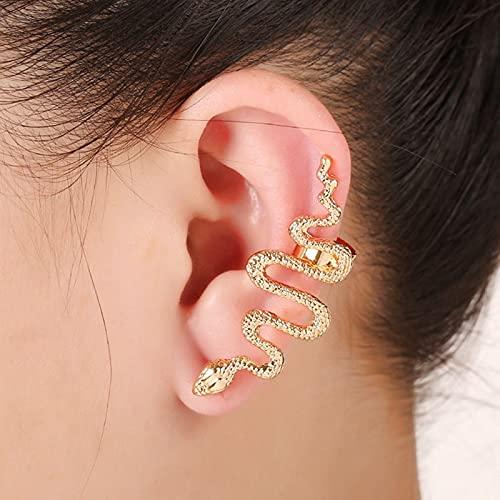 Halskette Neue Hip Hop Metall Einstellbare Gold Silber Farbe Schlange Multifunktionale Halskette Für Frauen Mädchen Party Schmuck 7Earclip