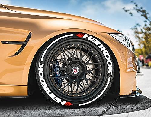 Ps1 Hankook con rayas – Anillo – Stripes – Rígida de neumáticos, 8 pegatinas para 4 neumáticos de 14 – 22 pulgadas