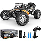 BEZGAR 3 Hobby Grade 1:12 Scale RC Trucks, 4WD High Speed 42 Km/h All Terrains Electric Toy Off Road Sand Rall Buggy RC Truck RC Monster Car with Rechargeable Batteries for Boys Kids and Adults¡