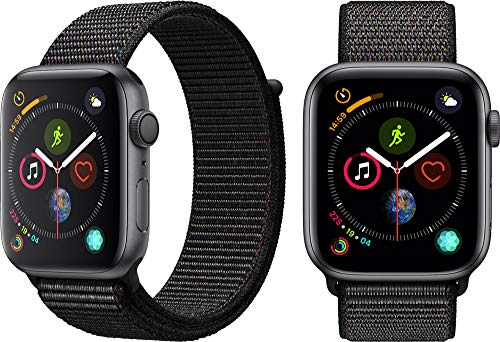 Apple Watch Series 4 (GPS, 44mm) - Space Gray Aluminum Case with Black Sport Loop 2