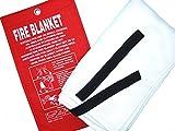 1m x 1m Fiberglass Fire Blanket