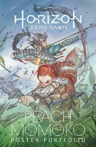 The Official Horizon Zero Dawn Peach Momoko Poster Portfolio