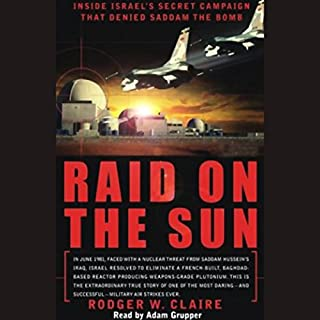 Raid on the Sun audiobook cover art