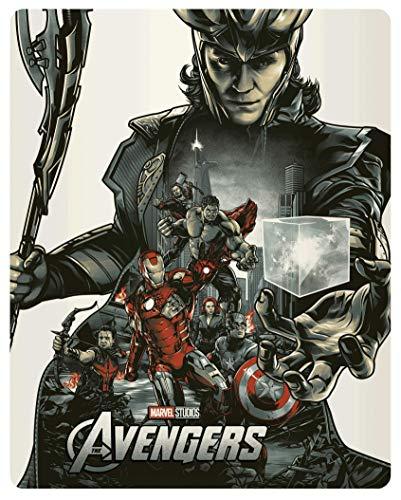 Avengers [4K Ultra HD + Blu-Ray-Édition boîtier SteelBook]