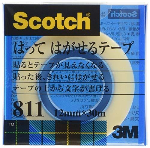 スリーエム『スコッチ 貼ってはがせるテープ(811-1-12C)』