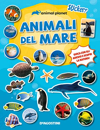 Animal del mare. Stickers. Ediz. a colori
