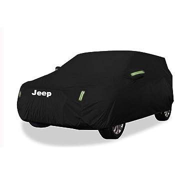 Compatibile con Jeep Renegade Car Cover Spessa Abbigliamento per auto Parapioggia Copriauto Auto Copertura di protezione solare Size : 2016