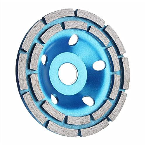 Muela de molienda de diamante 100/115/125/180 mm abrasivos de disco de diamante Herramientas de hormigón, molino de diamante, ruedas de corte de metal; sierra de vaso (diámetro exterior: 125 mm)