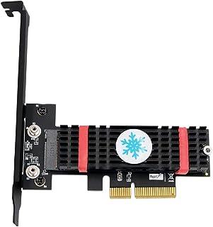 M.2 NGFF PCI-e nvme SSD to PCI Express 3.0 x4 Host Adapter with heatsink