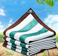 温室遮熱日よけ シェード オーニング 、プライバシースクリーンー保護、耐紫外線日焼け止めネットカバー、裾上げボタンホール