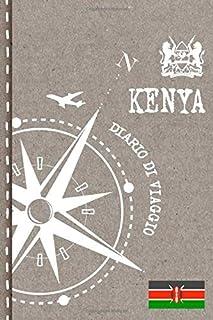Kenya Diario di Viaggio: Journal dotted A5 per Scrivere Appunti, Disegnare, Ricordi, Quaderno da Disegno, Dot Grid Giornalino, Bucket List – Libro Attività per Viaggi e Vacanze Viaggiatore