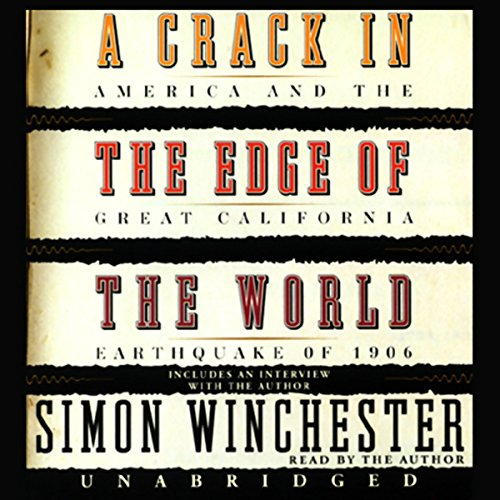 A Crack in the Edge of the World audiobook cover art
