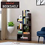 Urbancart Bookshelf/Bookrack Organizer for Books/CDs/Albums/Files Holder in Living Room Home & Office.(7 Tier)((Assembly Required)) (Dark)
