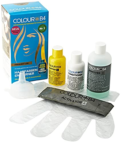 Color B4 Haarfarbenentferner HÄUFIG GEBRAUCH, 1 Stück