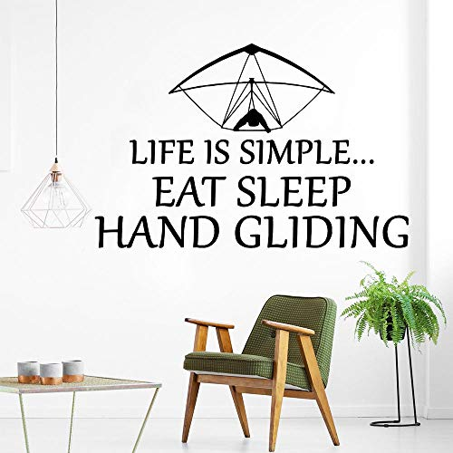 Wandaufkleber Vinyl wand DIY Abnehmbare Wandaufkleber für Room Decor Wand Home Küche Kunst Aufkleber Segelflug sport 43x66 cm