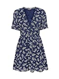 Tommy Jeans Vestito, Blu (Paisley Print/Twilight Navy 0zv), 42 (Taglia Unica: Medium) Donna