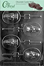 Cybrtrayd R045 Girl Communion Lolly Chocolate Candy Mold with Exclusive Cybrtrayd Copyrighted Chocolate Molding Instructions plus Optional Candy Packaging Bundles